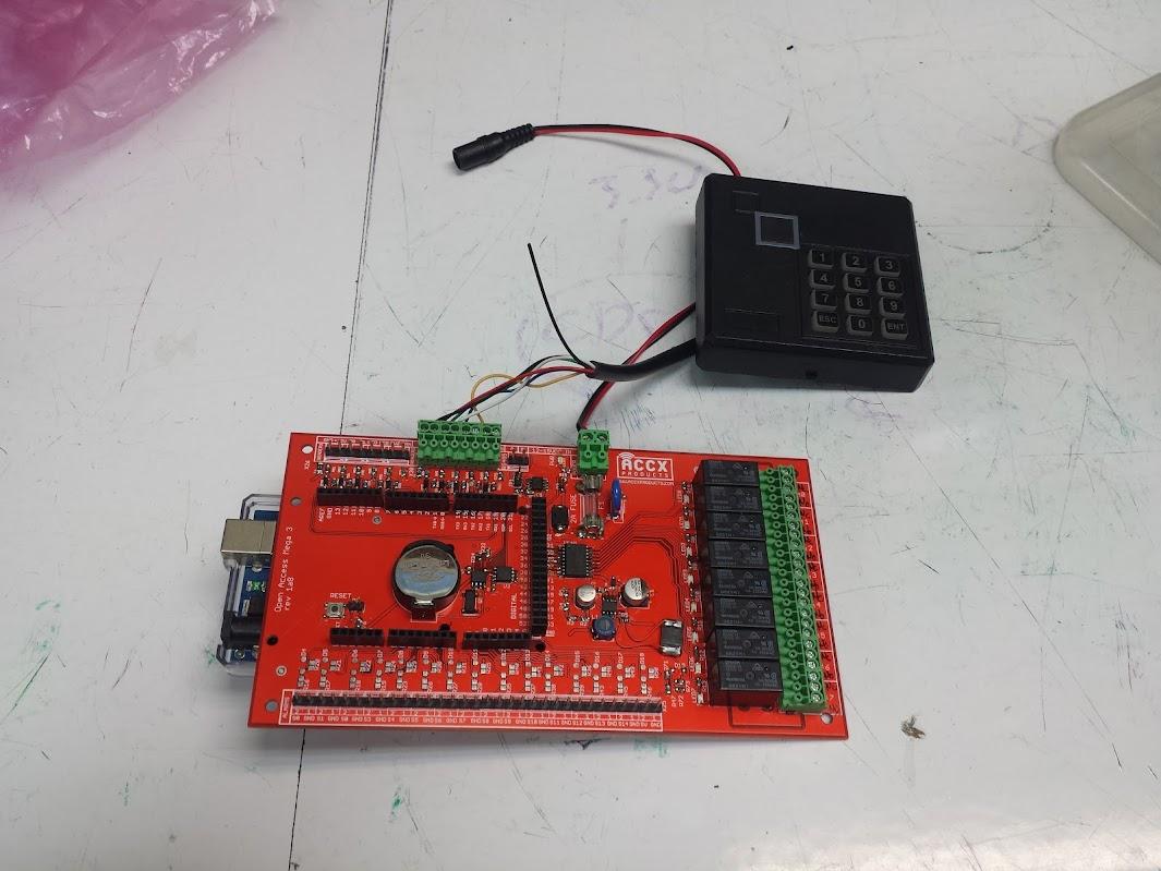 Wiegand keypad | Evan's Techie-Blog