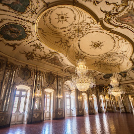 Ballroom in the Palace of Queluz, Lisbon. by Simon Page - Buildings & Architecture Public & Historical