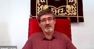 Intervención del alcalde de Adra, Manuel cortés en el 'Webinar' de LA VOZ