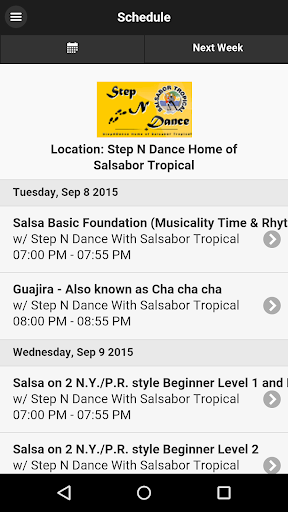 Step N Dance Salsabor Tropical
