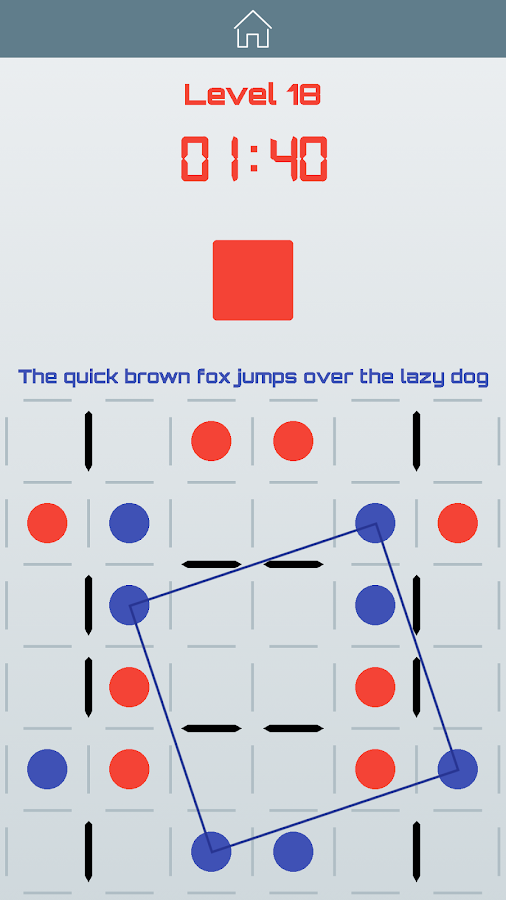 Smart Squares: Dots & Boxes Multiplayer Board Game – Screenshot