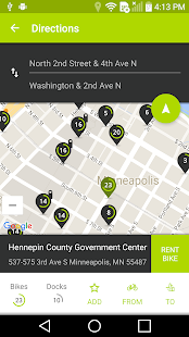 Nice Ride Bike Share- screenshot thumbnail
