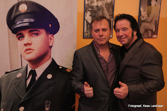 Photo: Elvis (USA) JOHNNY EARL (UK) and D.W. KING (DE).