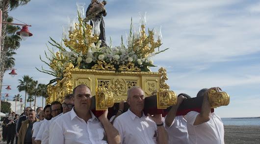 Fotografía de archivo de la procesión de San Antonio.