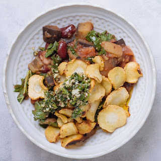 Parsnip, Kale & Kidney Bean Hotpot.