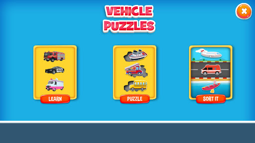 Vehicle Puzzles for Toddlers cheat screenshots 4