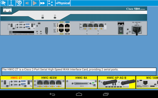 Cisco Packet Tracer Mobile screenshot 6