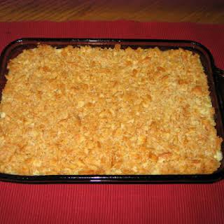 Chicken & Rice a Roni Casserole.