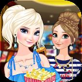 Cinema Elsa and Anna