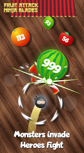 Fruit attack - Ninja blades Screenshot