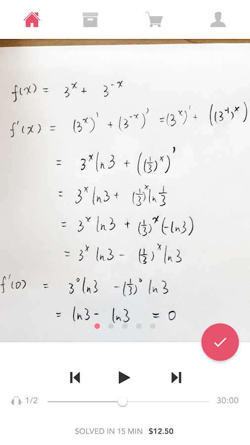 Solvit - Math Homework Help- screenshot