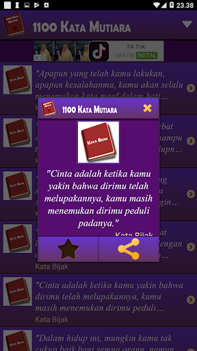 1100 Kata Mutiara 1.7.8 screenshots 9