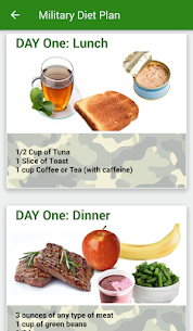 Tracker Weight Loss ★Military Diet★ 2