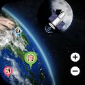 GPS Earth Map Live : Street View & GPS Navigation icon