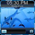 3D Fish Go Locker Theme icon