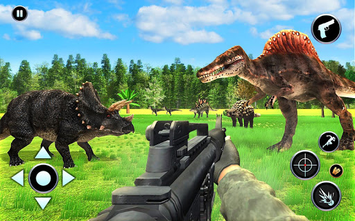 Dinosaur Hunter Free Wild Jungle Animals Safari  screenshots 4