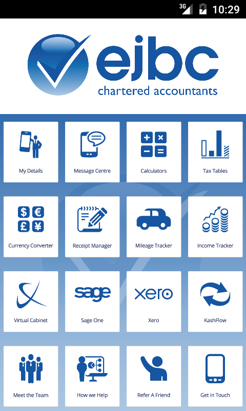 EJBC Chartered Accountants- screenshot