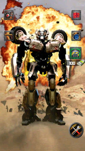 会说话的战争机器人