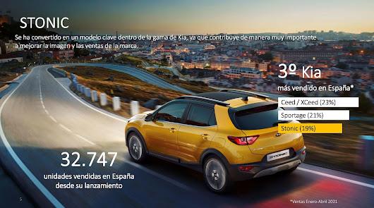 El Kia Stonic es uno de los vehículos más vendidos en Kia Automóviles Robe