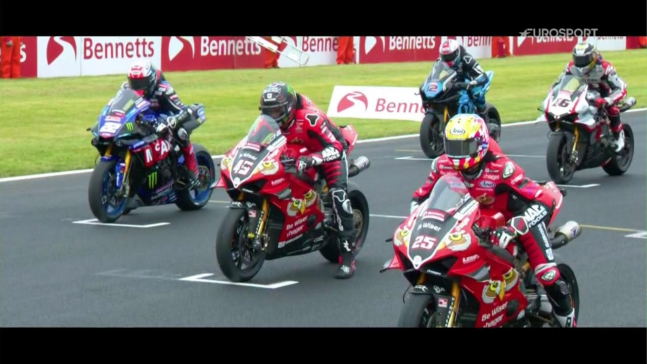 2019 Bennetts British Superbike Championship - Sunday Opening, Round 3,  Donington Park - YouTube
