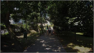 """Photo: """"Pământul - micul grăunte de nisip unde am văzut lumina zilei"""" - definiţie celebră de Voltaire Imagine de pe Calea Victoriei, alee Mr.2 - 2017.07.19"""