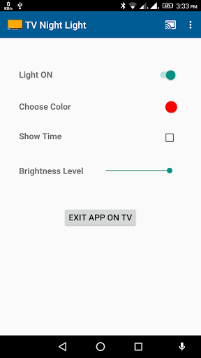 Cast Night Light and Clock on TV  screenshots 1
