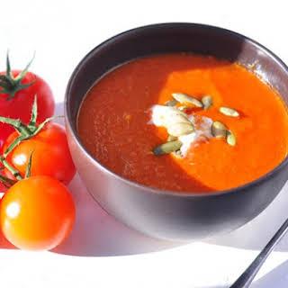 Roasted Plum Tomato Soup.