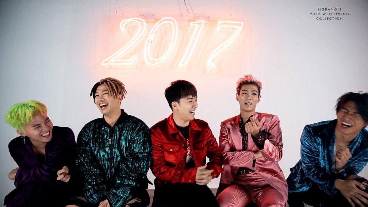 Red Dragon Girl Wallpaper Members Of Bigbang Post Photos Of Reunion On Sns Koreaboo