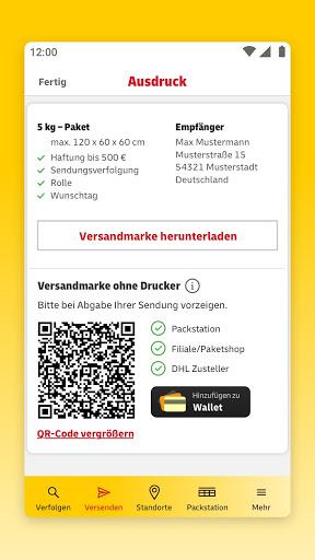 DHL Paket  screenshots 5