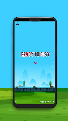 Flappy Wings: The Funny Flying Bird Game apkdebit screenshots 2