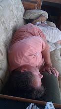 Photo: Very funny, Lisa. (But I do like a mid-cruise nap!)