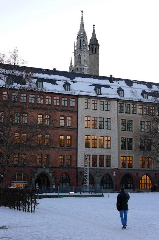 Фото - Мюнхен в январе, Германия