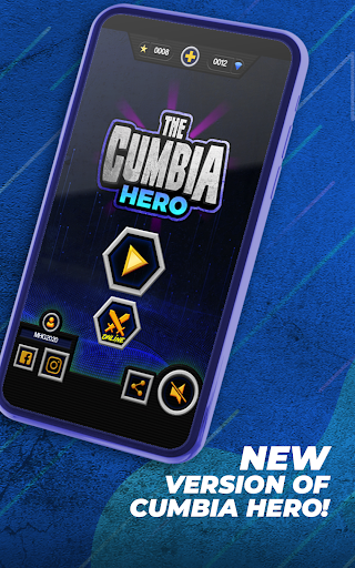 Guitar Cumbia Hero - Rhythm Music Game 5.1.0 screenshots 1