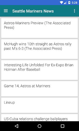 BIG Seattle Baseball ニュース