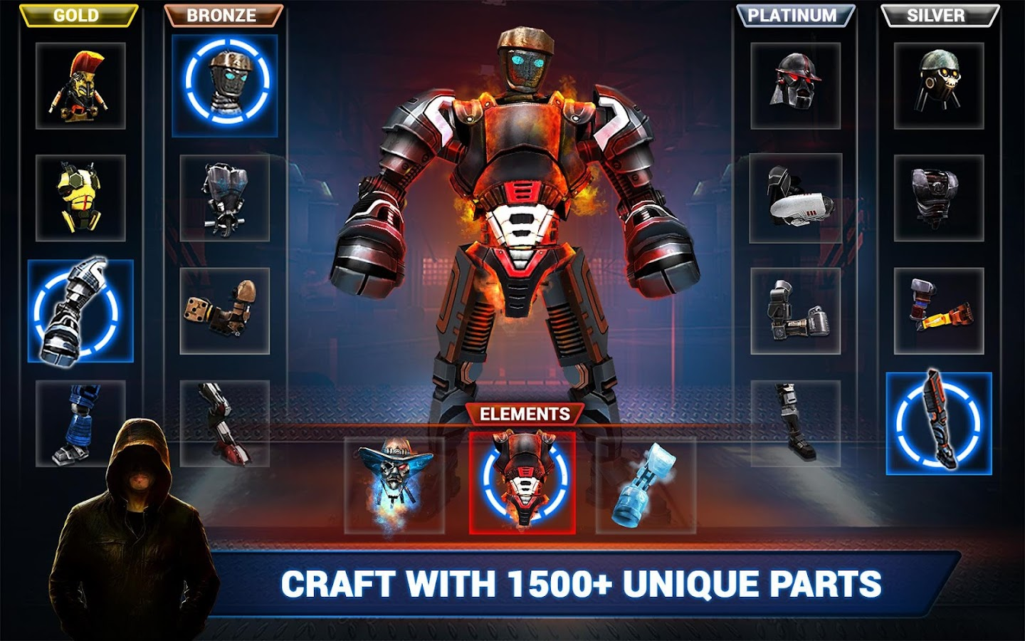 Screenshots of Real Steel Boxing Champions for iPhone
