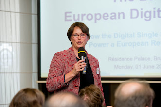 Photo: Marjut Santoni, deputy chief executive of the European Investment Fund