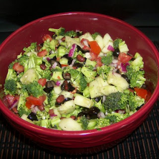 Colorful Broccoli Salad