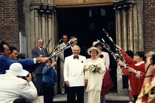 Léon Leblanc wedding