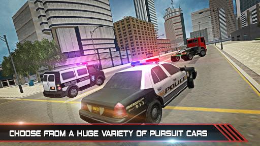 Police Car Stunts Game : Fast Pursuit Simulator 3D screenshot 3