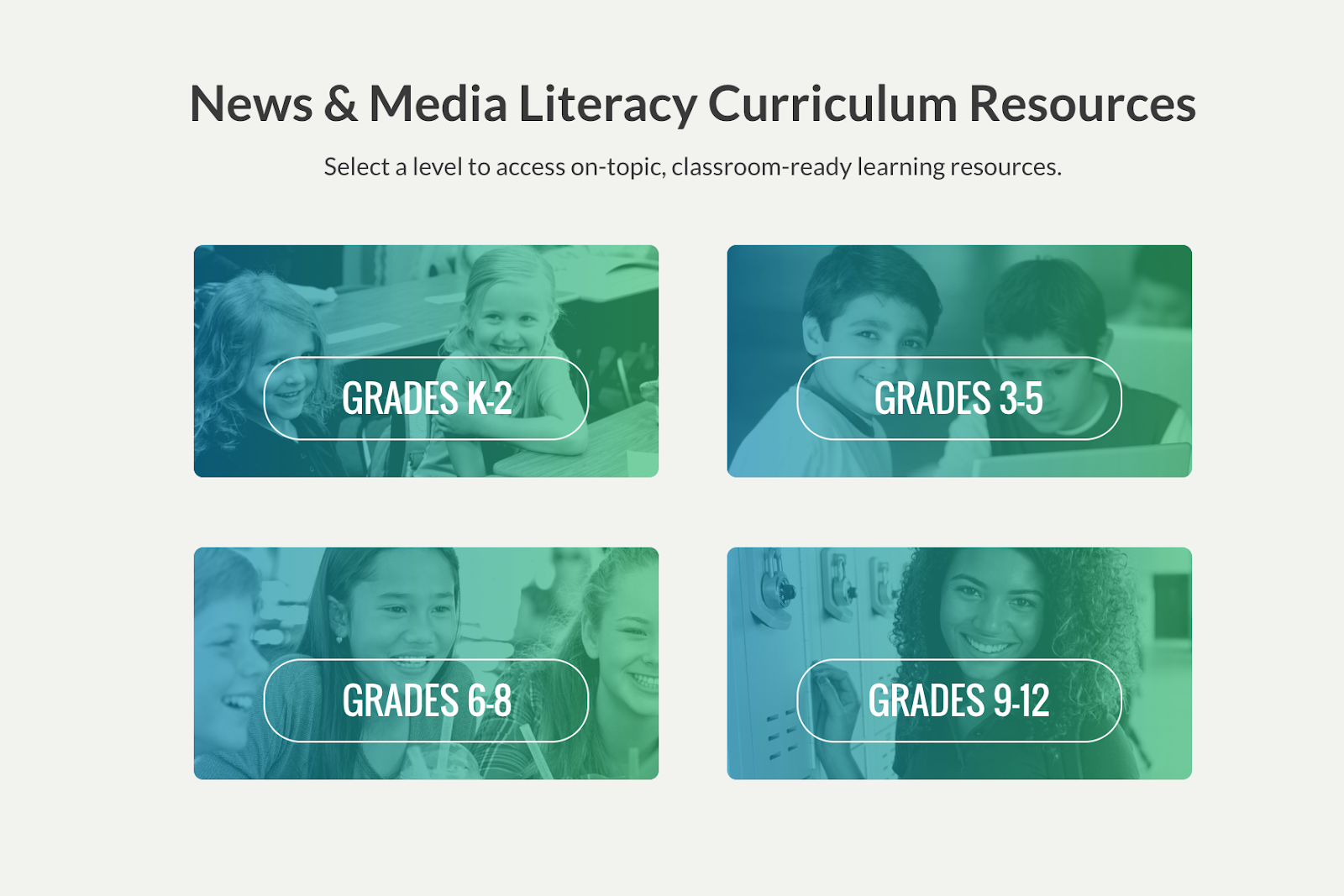 News Media & Literacy Curriculum Resources