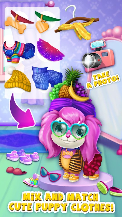 Pink Dog Mimi - My Virtual Pet- screenshot
