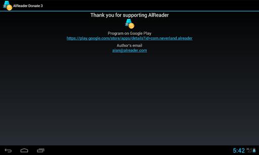 AlReader Donate 3  screenshots 3