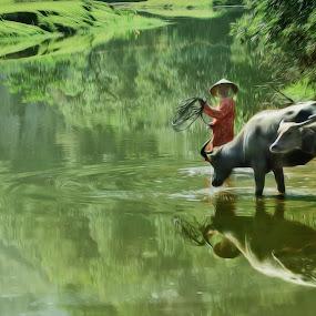 Photo painting by Panglima  Jebat Durhaka - Digital Art Things