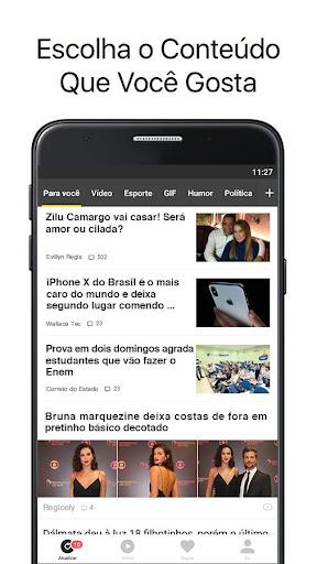 Topbuzz: Notu00edcias do Dia, Vu00eddeos Engrau00e7ados, Gifs  screenshots 1