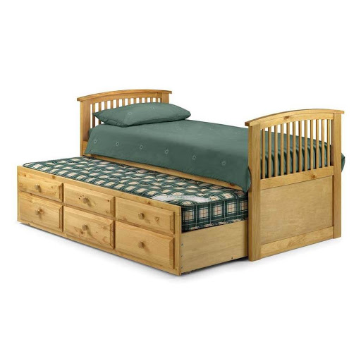 Julian Bowen Hornblower Pine 2 in 1 Bed