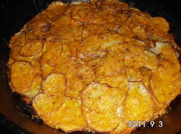 Stovetop-oven Fried Potatoes