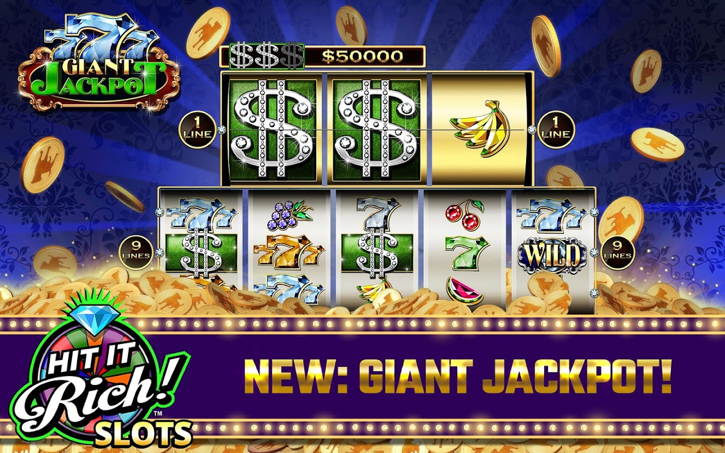 Hit it Rich! Free Casino Slots- screenshot