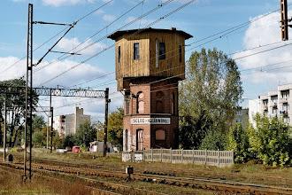 Photo: Wieża ciśnień {Solec Kujawski; 2002-09-28}
