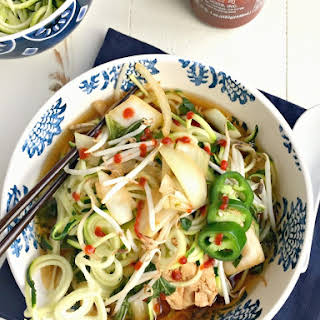 Chicken Zoodle Pho.