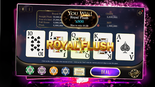 Video Poker - Free Casino Online! 1.0.1 screenshots 1
